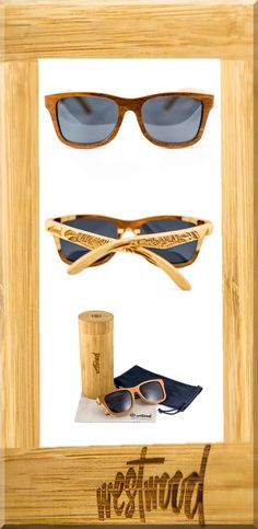 The Tribal Collection features designs inspired by art from cultures worldwide. Each stems from unique designs found in modern and ancient societies. We'll let them speak for themselves.  Skateboard wood sunglasses 1 mm smoke polarized lenses 100% UV protection Feather lightweight Flexible hinges Protective bamboo case included