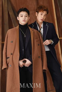 [PHOTOS] P.O and U-Kwon for Maxim Femme Korea Magazine, January 2017 Issue