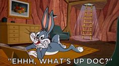 BUG BUNNY from LONNEY TUNES25 Of The Best Catchphrases In Television History