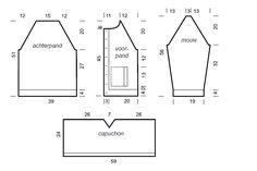 bernadette vest gratis patroon - Google zoeken