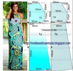 تفصيل فستان طويل يصلح للمحجبات بالباترون -خياطه فستان صيفى ماكسى بالباترون
