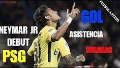 Asistencia y Gol!!   Asi Fue El DEBUT Perfecto De Neymar Con PSG!! Guingamp VS PSG 13/8/2017