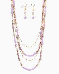 charming charlie | Just Bead It Necklace Set | UPC: 410006624771 #charmingcharlie