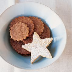 Dutch Spice Cookies   These simple almond and spiced cookies can be made in less than an hour. Use cookie cutters to make fun shapes for a party or cookie swap.