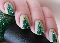 Resultado de imagen para uñas navideñas