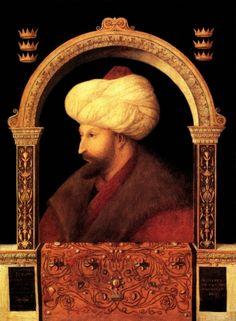 Fatih Sultan Mehmet Tablo - Kanvas Tablolar - Atlantis Tablo