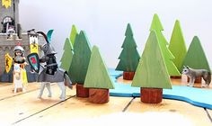 Cute trees for playmobil