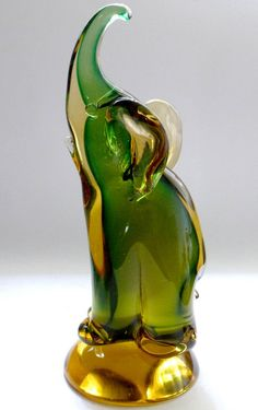 1000 Images About Elephants Figures Glass On Pinterest
