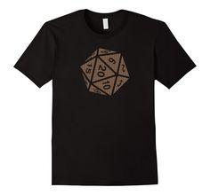 Polyhedral Dice T-Shirt. Perfect for the pen and paper rpg lover. If you're a Pathfinder or Dungeons and Dragons (D&D) fan, this shirt is perfect. Pen And Paper Games, Branded T Shirts, Dice, Dungeons And Dragons, Fashion Brands, Pattern Design, The Originals, Unique, Mens Tops