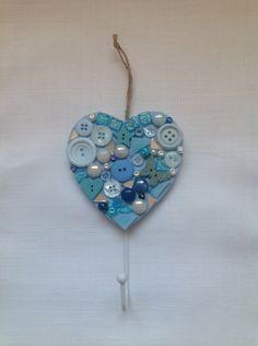 Blue Heart Hook - The Supermums Craft Fair