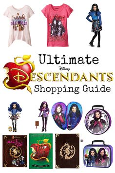 Need some gift ideas for a tween girl this Christmas? Here's the Ultimate Disney Descendants Shopping Guide!