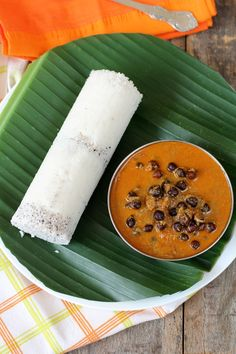 puttu - my favorite breakfast in Kerala steamed rice roll with fresh coconut and chickpea curry