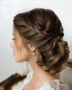 Braid and twist on side are pretty, but don't like the bun part