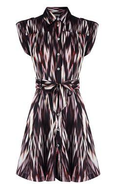 Karen Millen Tribal Print Dress Multi - suit-dresses.com - $89.34