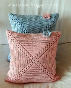Cojines crochet Más