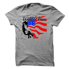 Wild and Free T Shirts, Hoodies. Get it now ==► https://www.sunfrog.com/LifeStyle/Wild-amp-Free.html?41382