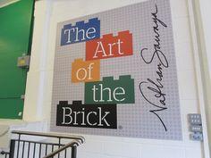 The Art of the Brick. Art work by Nathan Sawaya -- all made from LEGO bricks! Brick Art, Lego Brick, Bricks, Art Work, Artwork, Work Of Art, Brick, Art Pieces