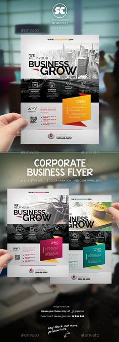 Corporate Business Flyer / Magazine Ads Template #design Download: http://graphicriver.net/item/corporate-business-flyer-magazine-ads/12669287?ref=ksioks