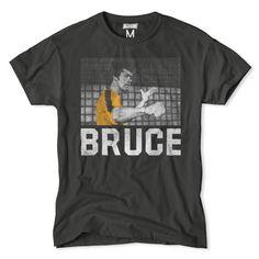 Official Bruce Lee X Undrcrwn Fly Kick In Air Jordan Xi Bred Red T Shirt Activewear Tops