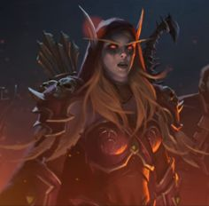 Getting back into WoW for the time in a year ready for like. Warcraft Art, World Of Warcraft, Video Game Characters, Female Characters, Lady Sylvanas, Elven Woman, Banshee Queen, Sylvanas Windrunner, Female Character Concept