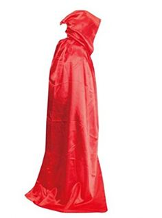 Uideazone Hooded Cloak Coat Robe Cape Shawl Halloween Party Cosplay Costumes Red *** To view further for this item, visit the image link.