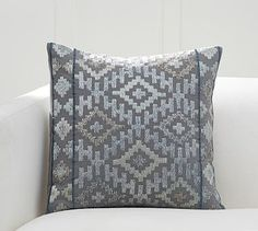 Esme Embroidered Pillow Cover #potterybarn