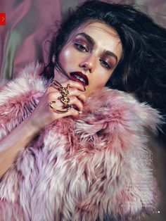 Smile: Andreea Diaconu in Vogue China August 2013 by Lachlan Bailey