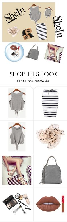 """""""Daily"""" by aammiraa ❤ liked on Polyvore featuring Ichi, STELLA McCARTNEY, Borghese and Lime Crime"""
