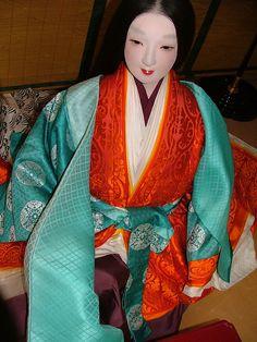 Heian ladies' dress by crimsongriffin28, via Flickr