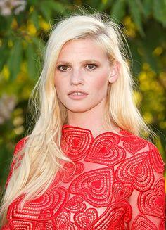 Trendsetterin: Topmodel Lara Stone färbte ihre Haare als Erste so hell