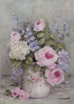 Floral Study by Gail McCormack