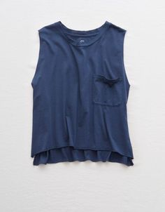 Shop Real Soft Tank Tops for Women at Aerie to find your new favorites! Browse tank tops in styles like camis, tube tops, scoop neck tanks & more in new colors and prints. Womens Ripped Jeans, Ae Jeans, Mens Outfitters, T Shirts For Women, Clothes For Women, Bikini Tops, American Eagle Outfitters, Cute Outfits, Boyfriend