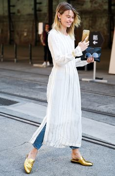 3 <em>InStyle</em> Editors Reveal How to Wear a Dress Over Pants