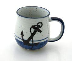 anchor mug by LennyMud on Etsy