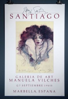 "Ramon Santiago""Marbella"" Hand-Signed & Numbered Print"