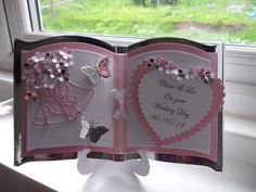 Beautiful Personalised Handmade Bookatrix Wedding Day/Anniversary Card | eBay