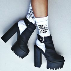 High heels and hangovers.