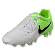 new styles bbd09 a4e63 Catalog Spree  Nike Laser IV KL FG - White Black Electric Green - Eurosport  My new cleats!