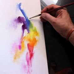 Expressive Movement Paintings by Kuwaiti Artist Bader Almutawa