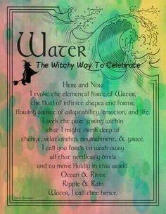 ☽✪☾invoking element water