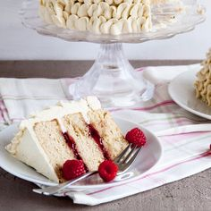 Earl Grey Raspberry Cake // Styles Sweet CA. Find this #recipe and more on our Raspberry Desserts Feed at https://feedfeed.info/raspberry-desserts?img=530808 #feedfeed
