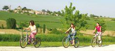 Balade à vélo sur les coteaux de Montgaillard