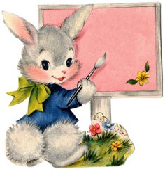 ♥x♥, cute as an Easter gift tag