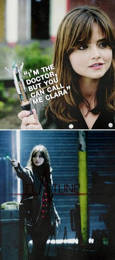 I'm the Doctor, but you can call me Clara. #doctorwho