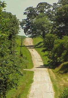 Country road (near Springfield, Illinois) by Randy von Liski