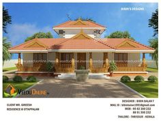 2337 Square Feet Double Floor Traditional Home Design Village House Design, Kerala House Design, Village Houses, Courtyard House Plans, House Floor Plans, Kerala Traditional House, Traditional Homes, Rustic House Plans, House In Nature
