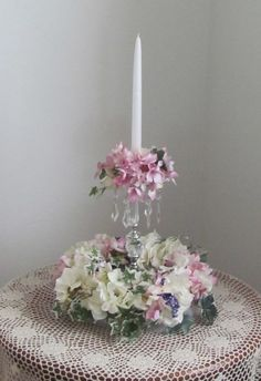 Wedding Decorations Table Centerpiece Pink by flowerfilledweddings, $60.00