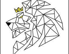 Resultado de imagen para dibujo de animales con figuras