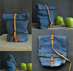 Рюкзак из джинс