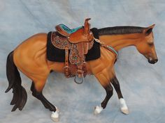 https://flic.kr/p/KJk4HF | Barrel saddle in progress and silver show saddle